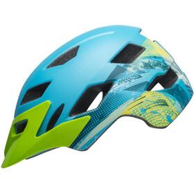 Bell Sidetrack - Casco de bicicleta Niños - azul/Turquesa